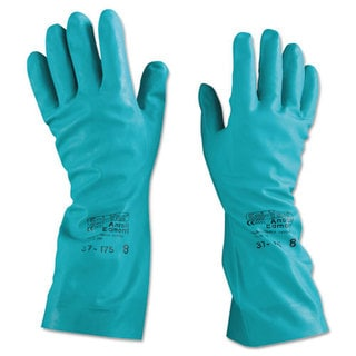 AnsellPro Sol-Vex Nitrile Gloves, Size 8