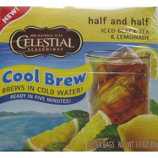 Celestial Seasonings Half and Half Cool Brew Iced Black Tea