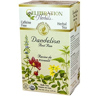 Celebration Herbals Dandelion Root Raw Organic Tea