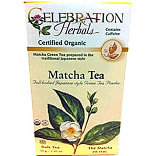 Celebration Herbals Organic Matcha Tea
