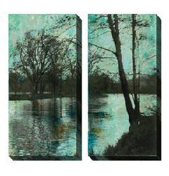 Sara Abbott 'The Arbor' Oversized Canvas Art Set