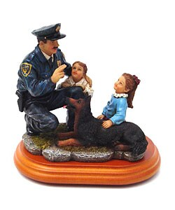 'The Officer Is Your Friend' Collectible Sculpture