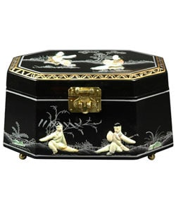 Handmade Antoinette Jewelry Box (China) 1739305