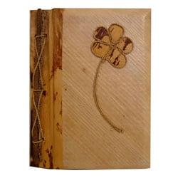 Handcrafted Banana Bark Flower Photo Album (Indonesia)