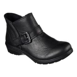 Women's Skechers Relaxed Fit Metronome Mod Squad Bootie Black 23253717