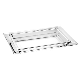 Majestic Gifts Inc. High Quality European Glass Large Tray 27279035