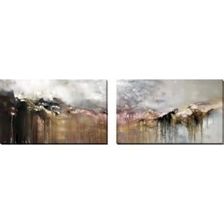 Mark Lawrence 'As Tears Go By. Psalm 116:8' Oversized Wall Art Sets of 2 27625810
