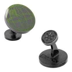 Men's Cufflinks Inc Death Star Blueprint Plans Cufflinks Black 23633788