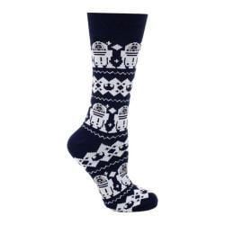 Cufflinks Inc R2D2 Tacky Sweater Sock Navy 23633797