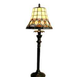 Tiffany-style Jeweled Table Lamp (As Is Item)