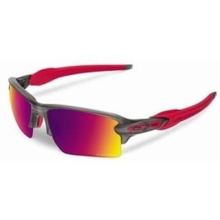 Oakley Flak 2.0 XL OO9188-04 Rectangular Matte Grey Smoke Mens Sunglasses - OO9188-918804 28956626