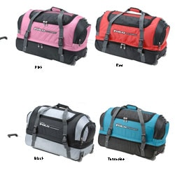 Rockland Polo Equipment Unisex 26-inch Rolling Upright Duffel Bag