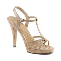 Women's Fabulicious Flair 420 Nude Patent/Black 24455926