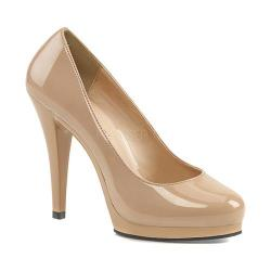 Women's Fabulicious Flair 480 Dude Patent/Nude 24455999