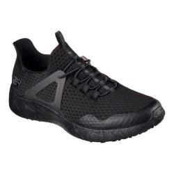 Men's Skechers Burst Shinz Bungee Lace Shoe Black/Black 24735403