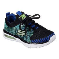 Boys' Skechers Air Advantage Sonic Blast Sneaker Black/Blue/Lime 25524536