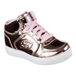 Girls' Skechers S Lights Energy Lights High Top Rose Gold 26416237