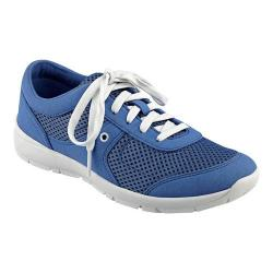Women's Easy Spirit Gogo Sneaker Blue/Blue Fabric 26741065