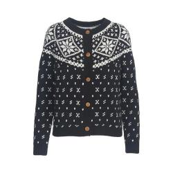 Women's Woolrich Snowfall Valley Cardigan Black 27650840