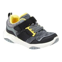 Boys' Hanna Andersson Gustav Sneaker Mast Grey Knitted Textile/PU 28236501