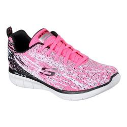 Women's Skechers Synergy 2.0 High Spirits Sneaker Hot Pink/Black 28593169