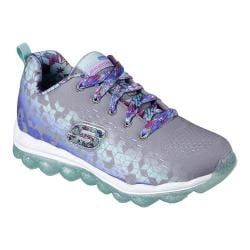 Girls' Skechers Skech-Air Sneaker Gray/Multi 28655918