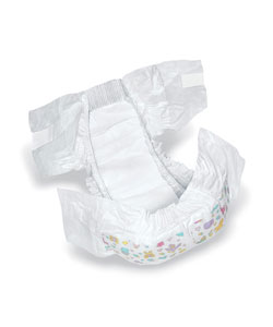 Medline Dry Time Size 5 Disposable Baby Diapers (Case of 144)