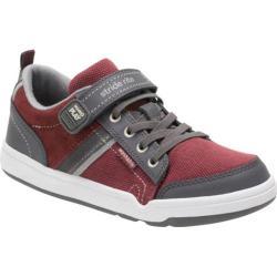Boys' Stride Rite M2P Kaleb Sneaker Oxblood Leather/Textile 28765714