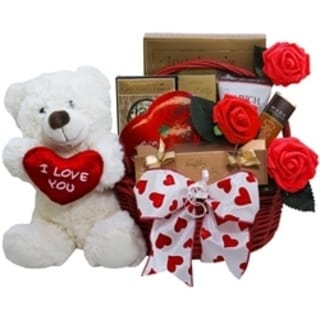 All My Love Chocolate Valentine Gift Basket