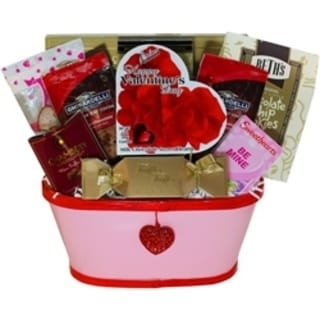 My Darling Valentine Gift Basket