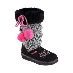 Girls' Skechers Twinkle Toes Glamslam Lil Lovelies Boot Black 29367074