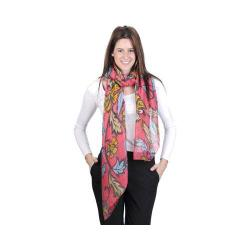 Women's J. Furmani Designer Collection Vibrant Wrap/Scarf Coral 29481145