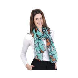 Women's J. Furmani Designer Collection Vibrant Wrap/Scarf Green 29481146