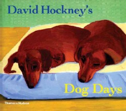 David Hockney's Dog Days (Paperback)