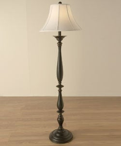 Turned Base Floor Lamp