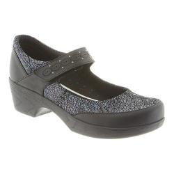 Women's Klogs Silverton Mary Jane Black Prism Leather 30240755