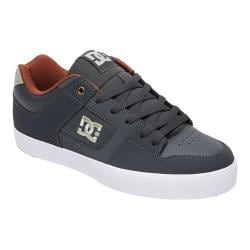 Men's DC Shoes Pure Skate Shoe Dark Shadow 30256718