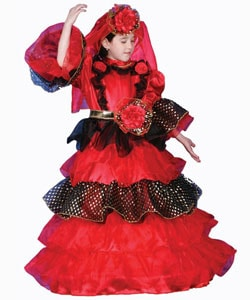 Spanish Dancer Deluxe Dress Up Set