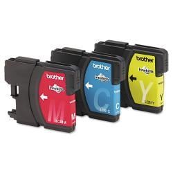 Brother LC613PKS (LC-61) Ink, Cyan, Magenta, Yellow (Pack of 3)
