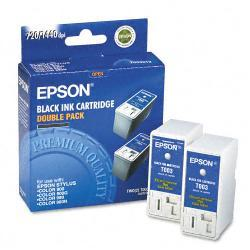 Epson T003012 Inkwith 600 Page-Yield, Black (Pack of 2)