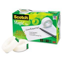Scotch Magic Office Tape Bulk Pack (Case of 18 Rolls)