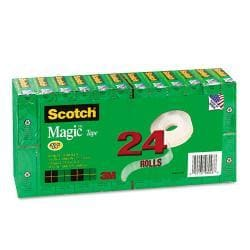Scotch Magic Office Tape Value Pack, Clear