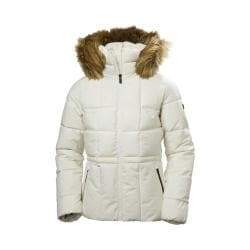 Women's Helly Hansen Blume Winter Jacket Off White 30482997