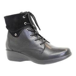 Women's Dromedaris River Ankle Boot Black Leather 31423215