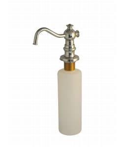Brass Soap Dispenser With Chrome-plated Spout