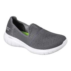 Women's Skechers GO FLEX Max Slip-On Walking Shoe Charcoal 31946692