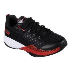 Boys' Skechers Clear Track Sneaker Black/Red 32072268