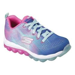 Girls' Skechers Skech-Air Bounce N Bop Sneaker Blue/Hot Pink 32075896