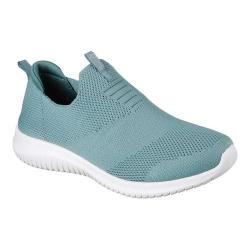 Women's Skechers Ultra Flex First Take Slip-On Sneaker Sage 32076529