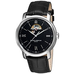 Baume & Mercier Classima Black Open Dial Watch